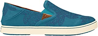 OLUKAI Women's Pehuea Pow Wow 20359-3TLB Teal-Legion Blue
