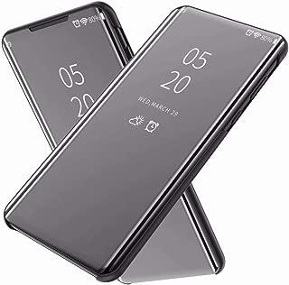 FanTing Case for vivo V15 Pro/S1 Pro,Mirrored flip smart translucent case with automatic switch for vivo V15 Pro/S1 Pro-Black