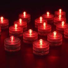 bianco Demiawaking 20-Luce impermeabile sommergibile con candela LED colore