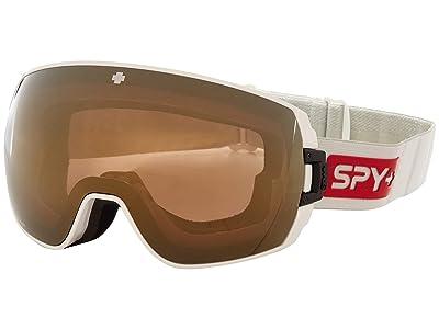 Spy Optic Legacy (Spy Space Happy Bronze w/ Gold Spectra+Happy Persimmon w/ Lucid) Snow Goggles
