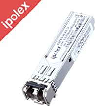 ipolex 1G SFP Module, 1000Base-SX SFP Multimode Mini-GBIC Transceiver(Dual LC, MMF, 850nm, 550m) for Cisco GLC-SX-MMD, Ubiquiti UF-MM-1G, Netgear AGM731F, D-Link, TP-Link, Supermicro, Mikrotik