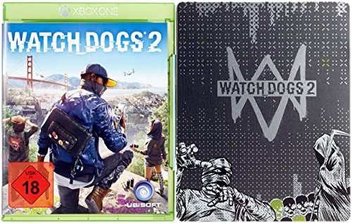 Watch Dogs 2 - Standard inkl. Steelbook Edition (exkl. bei Amazon.de) - [Xbox One]