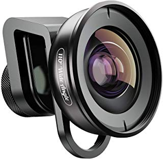 Apexel 110°Wide Angle Lens for Dual Lens/Single Lens iPhone,Pixel,Samsung Galaxy Smartphones
