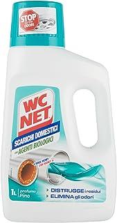 WC Net–Tratamiento para Tuberías domésticas, aroma de pino–2unidades de 1l [2l]