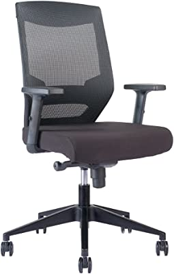 RightAngle Alpha Series Mobile Mesh Backrest Office Chair, Angle and Height Adjustable /w Lumbar Support