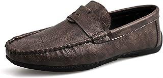 YangFan Chaussures en Cuir, Chaussures de Sport, Travail, Chaussures de Conduite pour Hommes, Semelles en Caoutchouc, Chau...