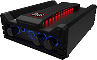 Dual Electronics DBTMA100 Micro Wireless Bluetooth 2 Channel Stereo Class-D Amplifier with | Universal Plug-In | Stereo RCA Outputs | 100 Watts Peak Power | 100ft of extended Wireless Bluetooth Range