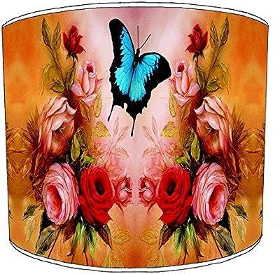 Premier Lighting 8 inch Roses Flower Floral Abat-jour8 pour Une Lampe de Table