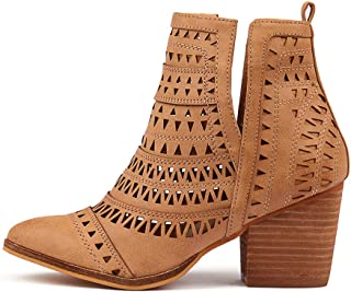 Verali Karina-VE Womens Shoes Block Heel Boots Ankle Boots