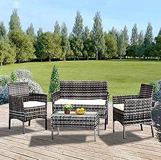 Amazon Fr Salon Bas De Jardin Salons De Jardin Mobilier De