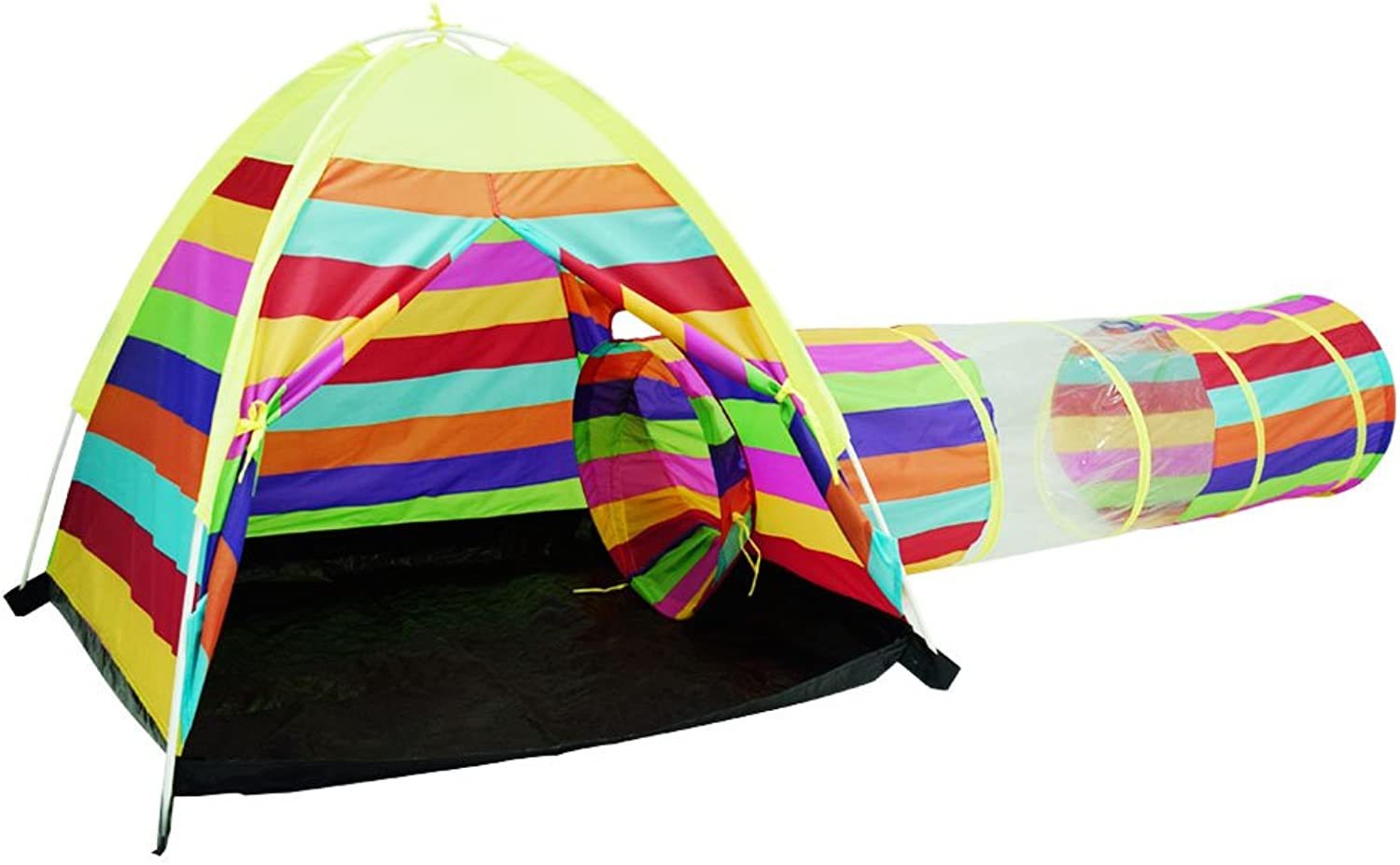 Acelane Dome Tent and Instant Tunnel Play Tent Kids Playhouse Toy Gift for Boys and Girls for Indoor and Outdoor Beach Use