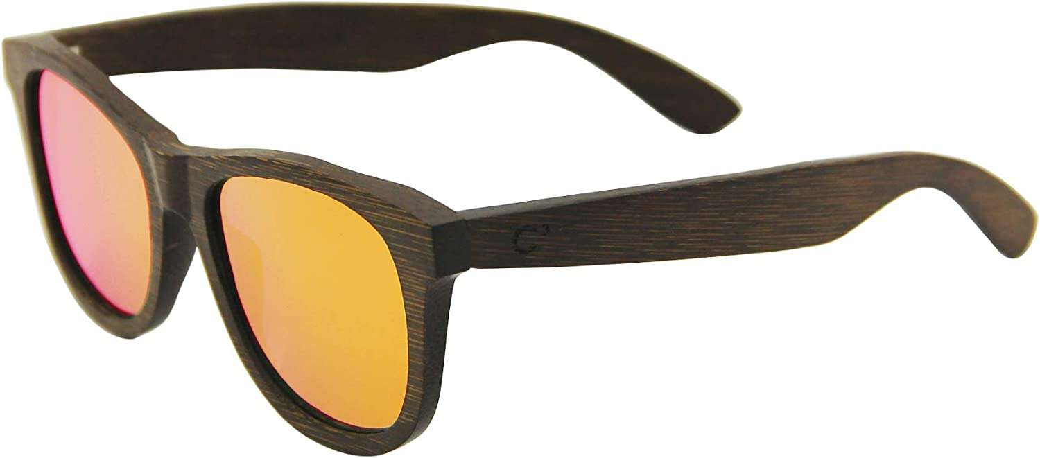 C3 Handmade Natural Bamboo polarized Spring Max 55% OFF new work protection Sunglasses fo UV