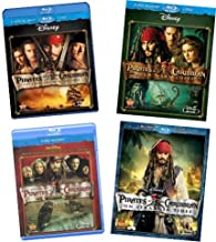 Pirates of the Caribbean: Four-Movie [Blu-ray]