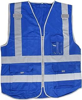 Safety Vests 120 * 73cm Traffic Safety Fluorescent Waistcoat Reflective Shirts Vest Uniforms Work Clothin Safety Vest Refl...