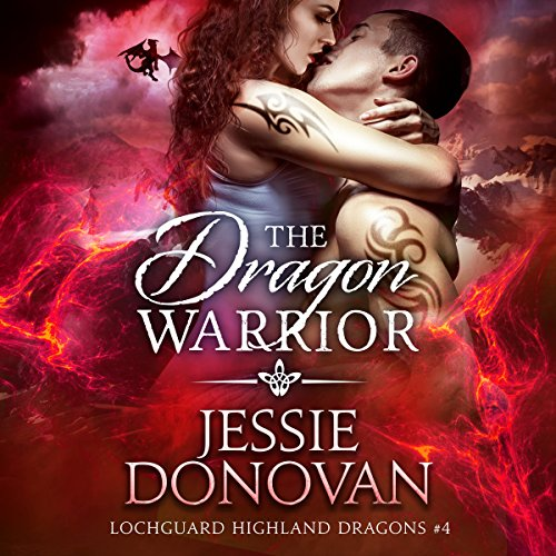 The Dragon Warrior audiobook cover art