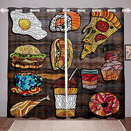 Hamburger Ice-Cream Curtain
