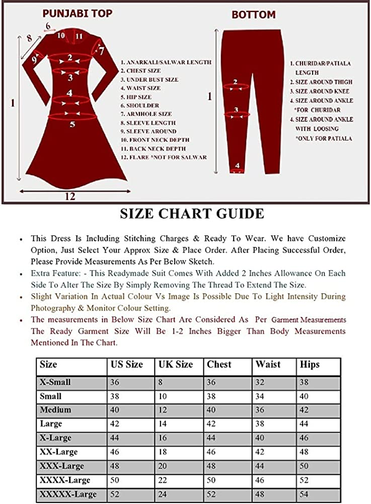 Ready to Wear Indian Pakistani Style Designer Ethnic Wear Embroidered Straight Salwar Suit Palazzo Suit for Womens