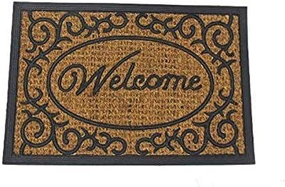 Dats 22826 Welcome Printed Natural Coir Door Mat