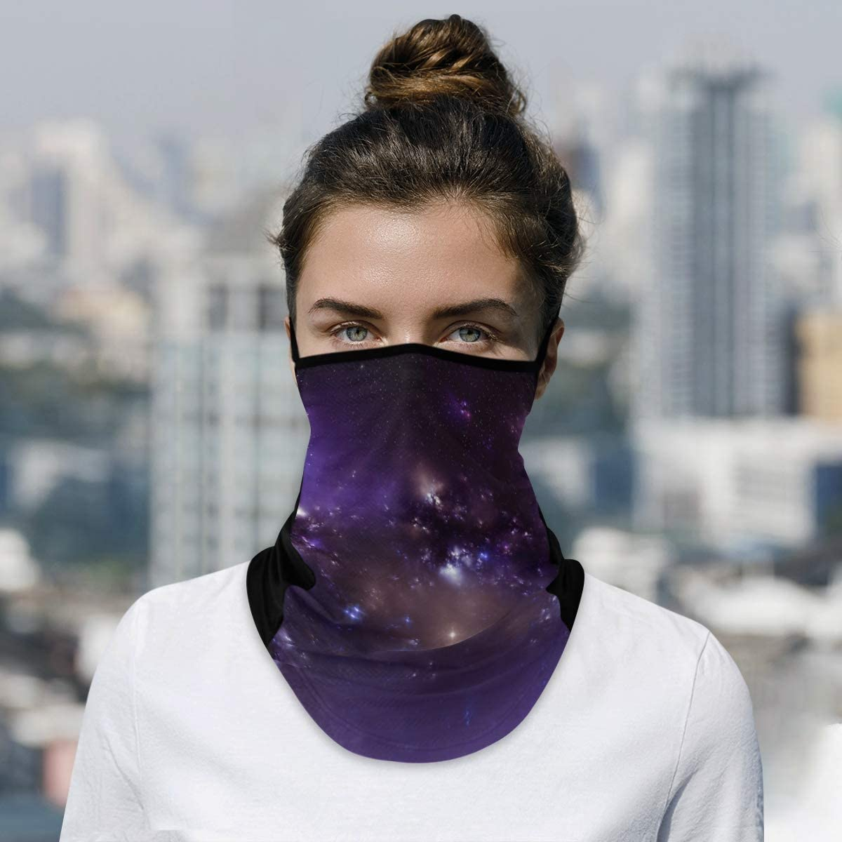 DAOXIANG Recommended Starry Sky San Jose Mall Neck Gaiter Reusable Face Cloth M Mask