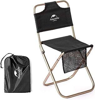 Naturehike 折畳背もたれ付き椅子 アルミ支柱 600Dオックスフォード採用 アウトドア キャンプ 旅行活動 屋外レジャー 家庭 ピクニック 出張 サイクリング 釣り 登山やハイキングなどにも大活躍します