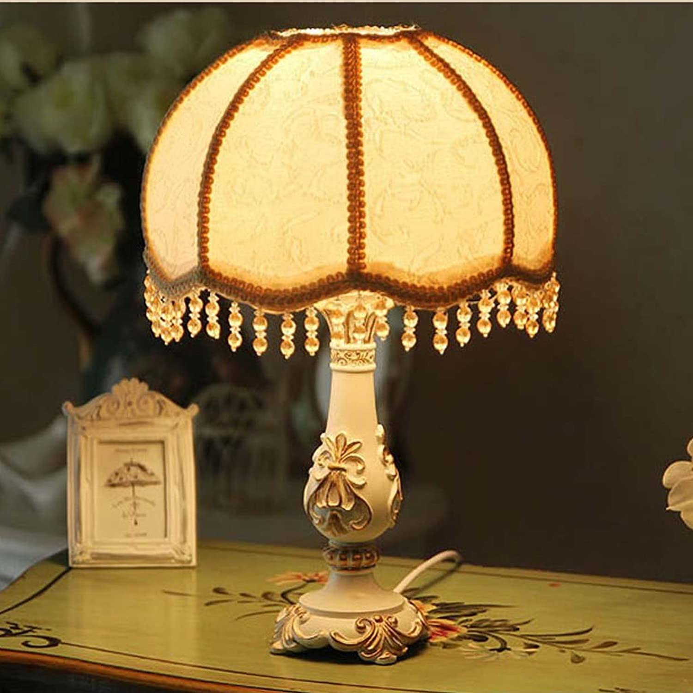 Lampe Europischen Einfache Moderne Garten Harz Schatten Nachttischlampe Geeignet für Schlafzimmer Salon Hotel Cafe
