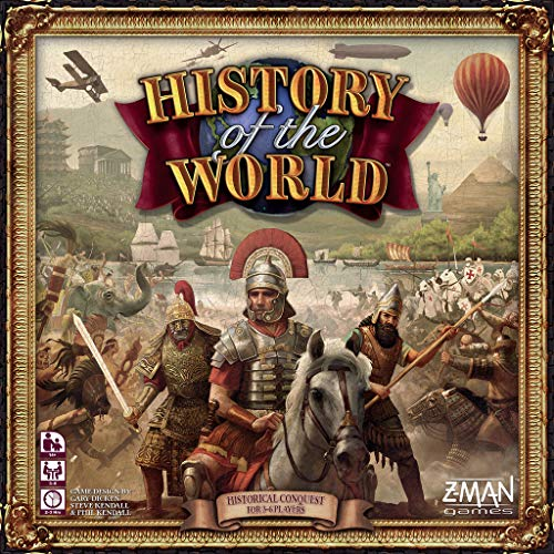 Z-Man Games ZMG005 History of The World, Mehrfarbig