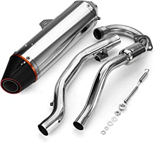 Aniro Moto Exhaust Muffler Pipe Tube Silencer Fits for Honda CRF150F CRF230F 2003-2014 2015 2016