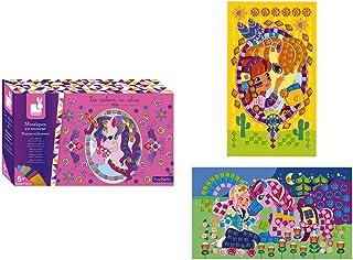Janod Foam Mosaics Ponies And Unicorns