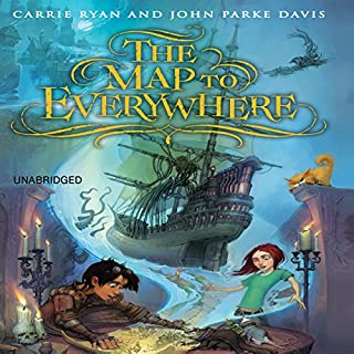 The Map to Everywhere audiobook cover art