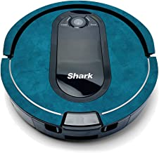 MightySkins Compatible with Shark Iq Robot - Blue Strokes | Protective, Durable, and Unique Vinyl Decal Wrap Cover | Easy to Apply, Remove, and Change Styles | Made in The USA