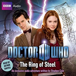 Doctor Who: The Ring of Steel cover art