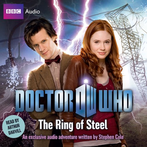 Doctor Who: The Ring of Steel audiobook cover art