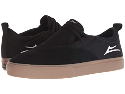 Lakai Riley Hawk 2 (Black/Gum Suede) Men