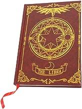 GK-O Anime Card Captor Sakura Magic Book Diary Travel Journal Note Book (Card Captor Sakura)