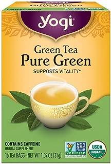 Yogi Tea Pure Green 16 ea ( pack of 2)