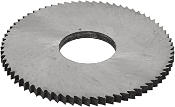 Aexit Disco de corte de disco de corte com lâmina de corte circular de 40 mm de diâmetro tom prateado
