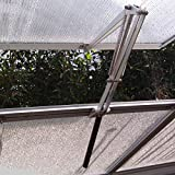 BIBISTORE Solar Heat Sensitive Automatic Greenhouse Window Opener Hothouse Vent Openers Auto Vent Kit-(Two Springs,Lifts 15 Lbs,No Power Needed)