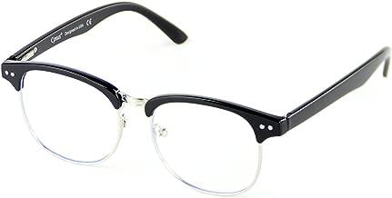 Cyxus Blue Light Filter Computer Glasses (Transparent Lens), Anti Eye Fatigue Better Sleep Unisex Eyewear (Spring Hinge Black)