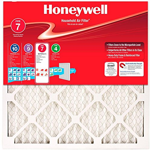 "Honeywell FR8000A2020-20/"" x 20/"" MERV 15 Pleated Air Filter"