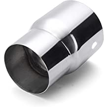 Oneuda 3'' ID to 3.5'' ID Stainless Steel Car Exhaust Reducer Connector Adapter Pipe Tip Auto Tail Tube