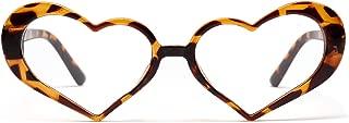 OVZA 2019 New Heart Glasses for Women Fashion Love Eyeglasses Frames Girl