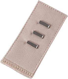 TMYQM بنطلون 5 ألوان بإبزيم حزام الحمل حزام وسط الحمل حزام الحمل حزام الحمل مشبك تمديد قابل للتعديل مشبك مرن (اللون: بيج)