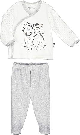 Pijama bebé 2 piezas Terciopelo Suave sueños – Talla – 1 ...