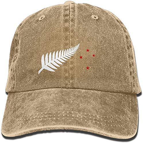 New Zealand Flag Maori Fern Stars Classic Baseball Caps Unisex Adult Cowboy Hat New Gifts Cool 2021