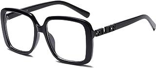 Oversized Square Designer Sunglasses for Women UV...