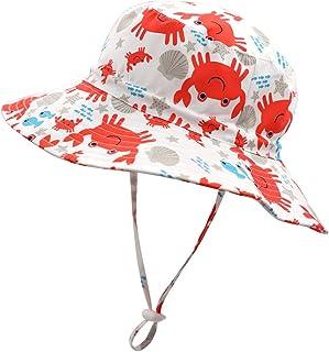 Home Prefer Kids UPF50+ Safari Sun Hat Breathable Bucket Hat Summer Play Hat