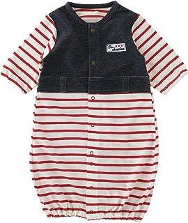 (チャックルベビー) chuckle ボンシュシュ 長袖ツーウェイオール 50-60cm レッド P5560-00-21