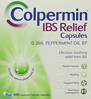 Colpermin Ibs Bp Relief Peppermint Oil Capsules Pack Of 100