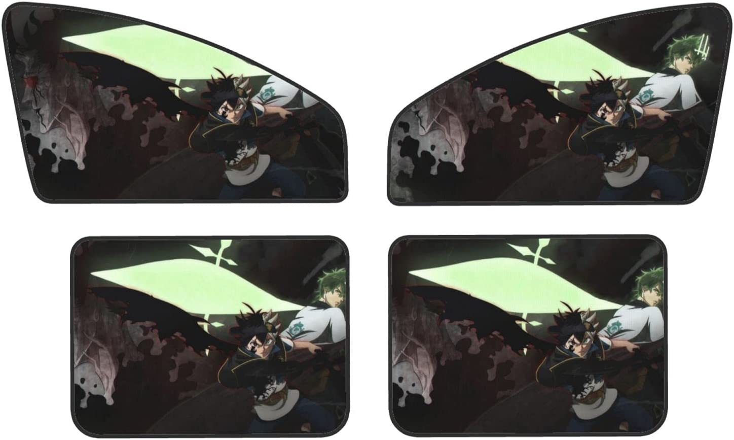 Car Window Sun Shade Very popular Front Rear Branded goods Piece Sunshad Privacy Magnetic 4