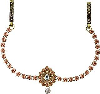 Vidhya Kangan Belly Chains for Women (Pink) (bro326)